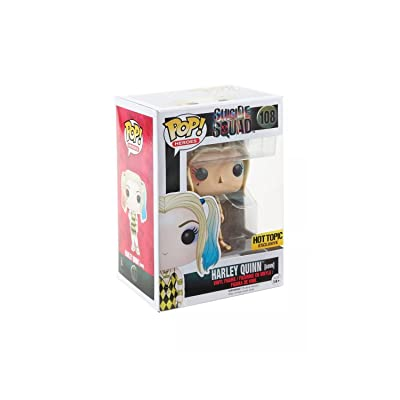 Funko POP! Suicide Squad Harley Quinn Gown Exclusive Heroes #108: Toys & Games