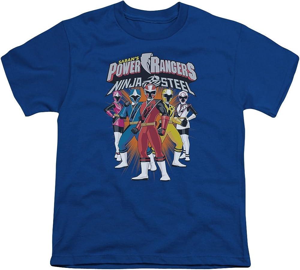 Youth: Power Rangers: Ninja Steel- Team Lineup Kids T-Shirt