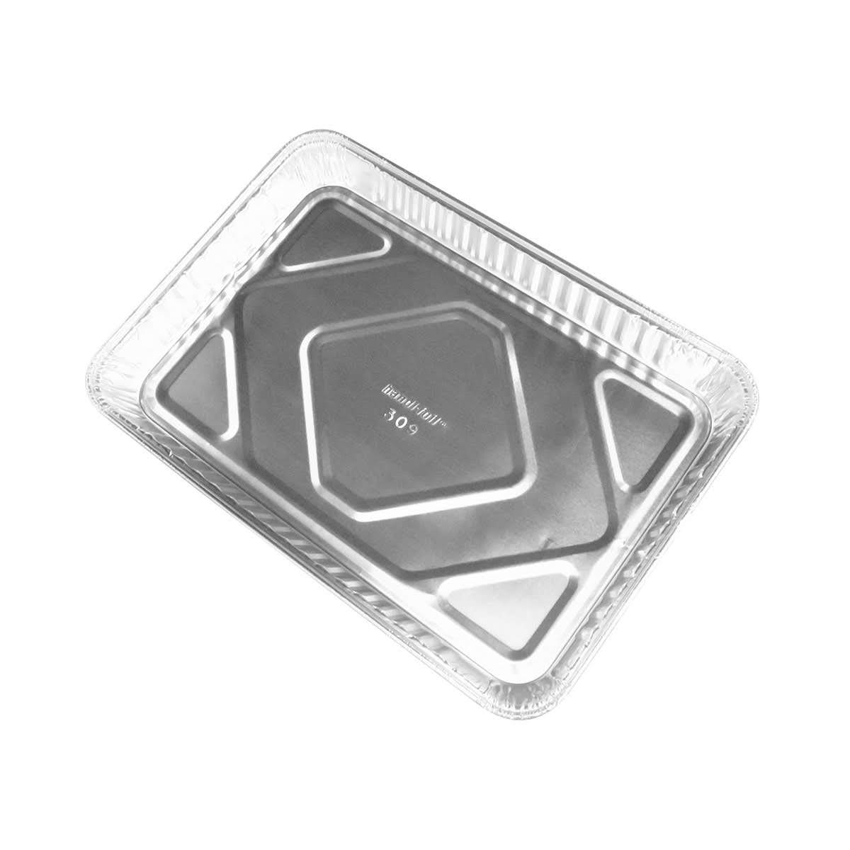 Handi-Foil Aluminum 1/4 Size Sheet Cake Pan, 100 units by Handi-Foil