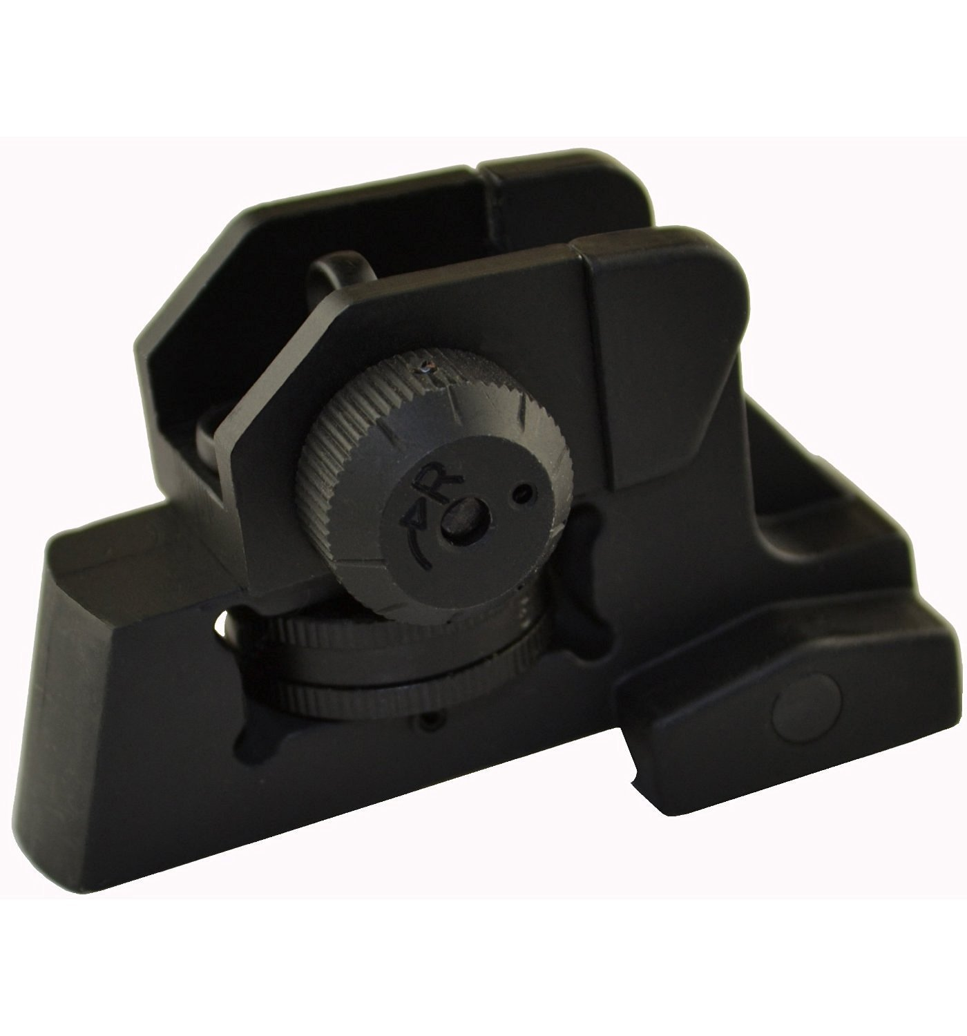 MUDCAT Outdoors Iron Sights Match Grade Model 4/15 Rear & High Profile Front Sight Gas Block, DPMS Oracle by GBO (Image #3)