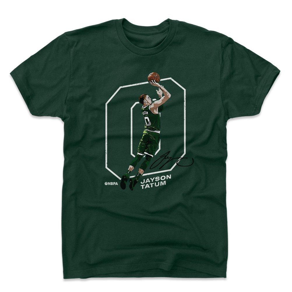 500レベルJayson Tatumシャツ – Bostonバスケットボールメンズアパレル – Jayson Tatumアウトライン X-Large フォレストグリーン B07CNW4Y8L