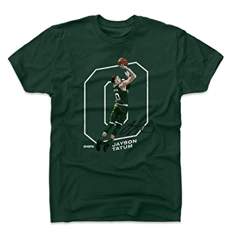500 LEVEL Jayson Tatum Cotton Shirt Small Forest Green - Vintage Boston  Basketball Men s Apparel - 355e73400