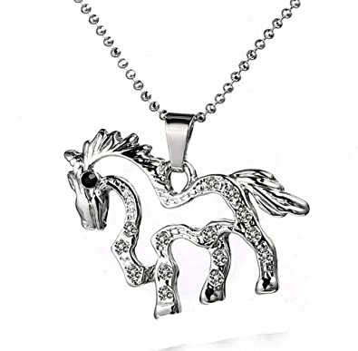 collier femme cheval
