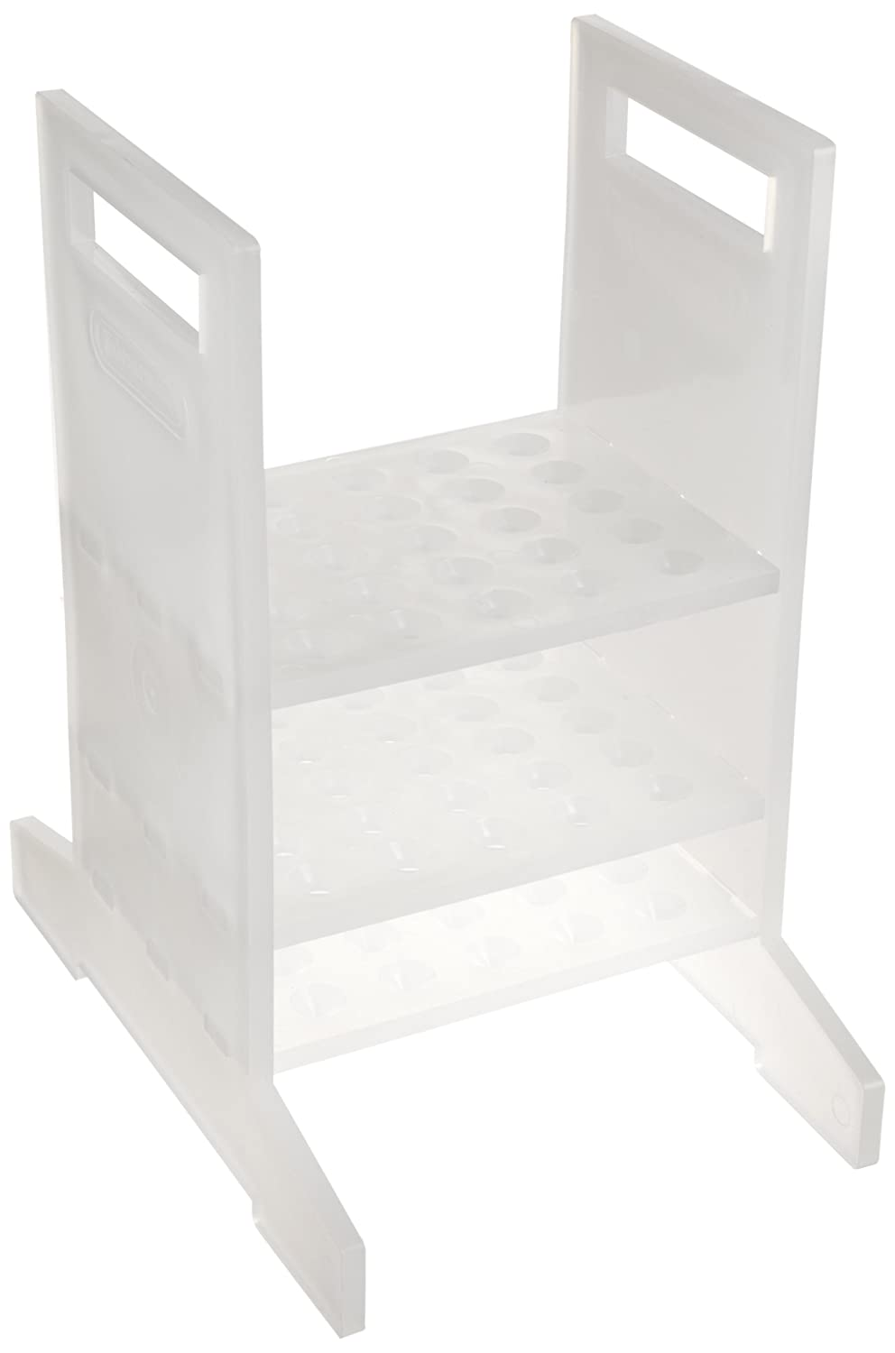 5⁷//₈ x 8/³//₈ x 9⁷//₈ in Polypropylene Bel-Art Thermometer Rack; 25 Places F18981-0001
