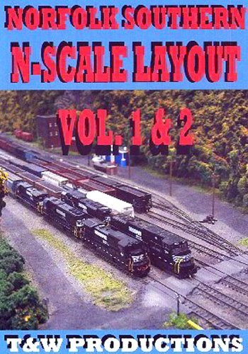 Norfolk Southern N Scale Layout by Model Railroad for sale  Delivered anywhere in USA