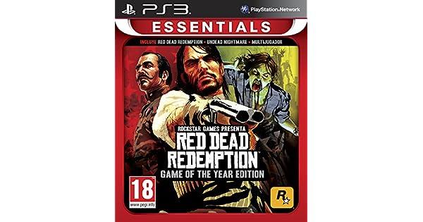 Red Dead Redemption - Game Of The Year Edition - Essentials: Amazon.es: Videojuegos