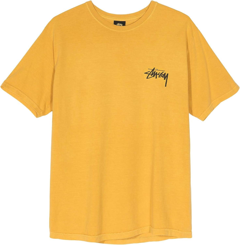 Stussy - Camiseta para hombre, mod. 1904438 Mustard Mustard XL: Amazon.es: Ropa y accesorios