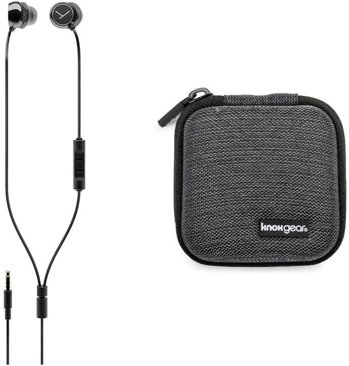Beyerdynamic Soul Byrd Wired Premium in-Ear Headphones (Black) Bundle (Includes Extra Hardshell Earbud case)