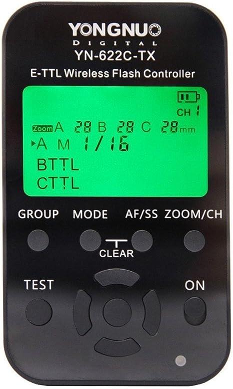 Yongnuo Yn 622c Tx E Ttl Funkauslöser Für Canon Mit Kamera