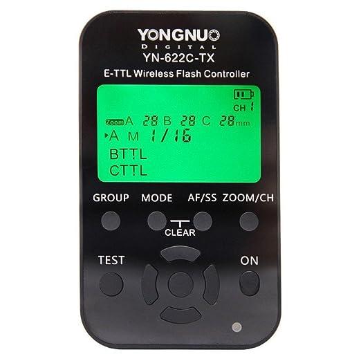 73 opinioni per Yongnuo YN-622C-TX Wireless e-TTL Flash Controller Per Canon 1Dx, 1Ds III, 1D