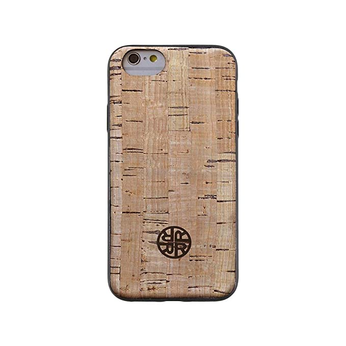 official photos 9a277 3ca1c Wood Case Compatible with iPhone 6/6s - Real Cork Wood Case by Reveal Shop  - Natural Cork Leather, Eco-Friendly Design (Cork, 6/6s)