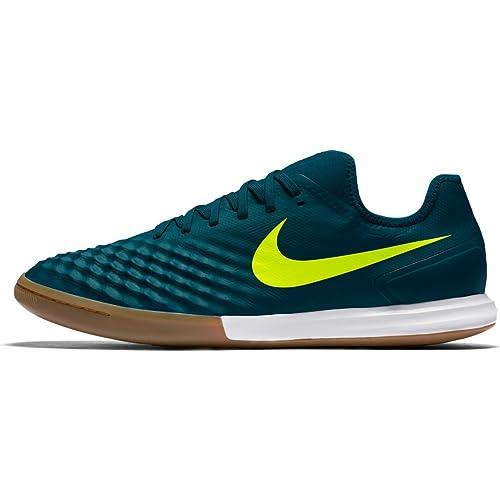 Nike Magistax Finale II IC Zapatos de Fútbol Sala para Hombre Turquesa Amarillo, Color Midnight TURQ/Volt-H, tamaño 11: Amazon.es: Deportes y aire libre
