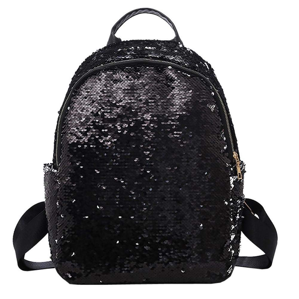 Women Basic PU Leather Stylish Backpack Purse Waterproof Nylon Anti-Theft  Rucksack Lightweight School Shoulder Bag  Amazon.co.uk  Shoes   Bags d80d6f2ef6