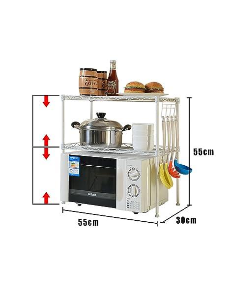 Muebles de cocina Cocina Microondas Rack de horno Rack de ...