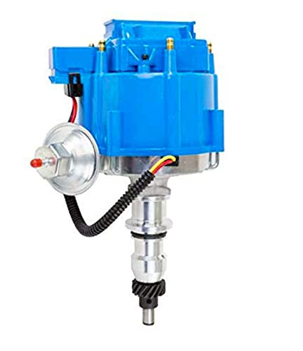 A-Team Performance HEI Complete Distributor Straight 6 Cylinder 240 and 300  65K Coil Compatible With Ford F100 F150 F250 E100 E150 One Wire