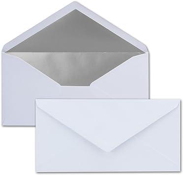 Briefumschl/äge DIN-Lang Gr/ün Briefumschlag Kuvert Briefkuvert Umschlag 10 x