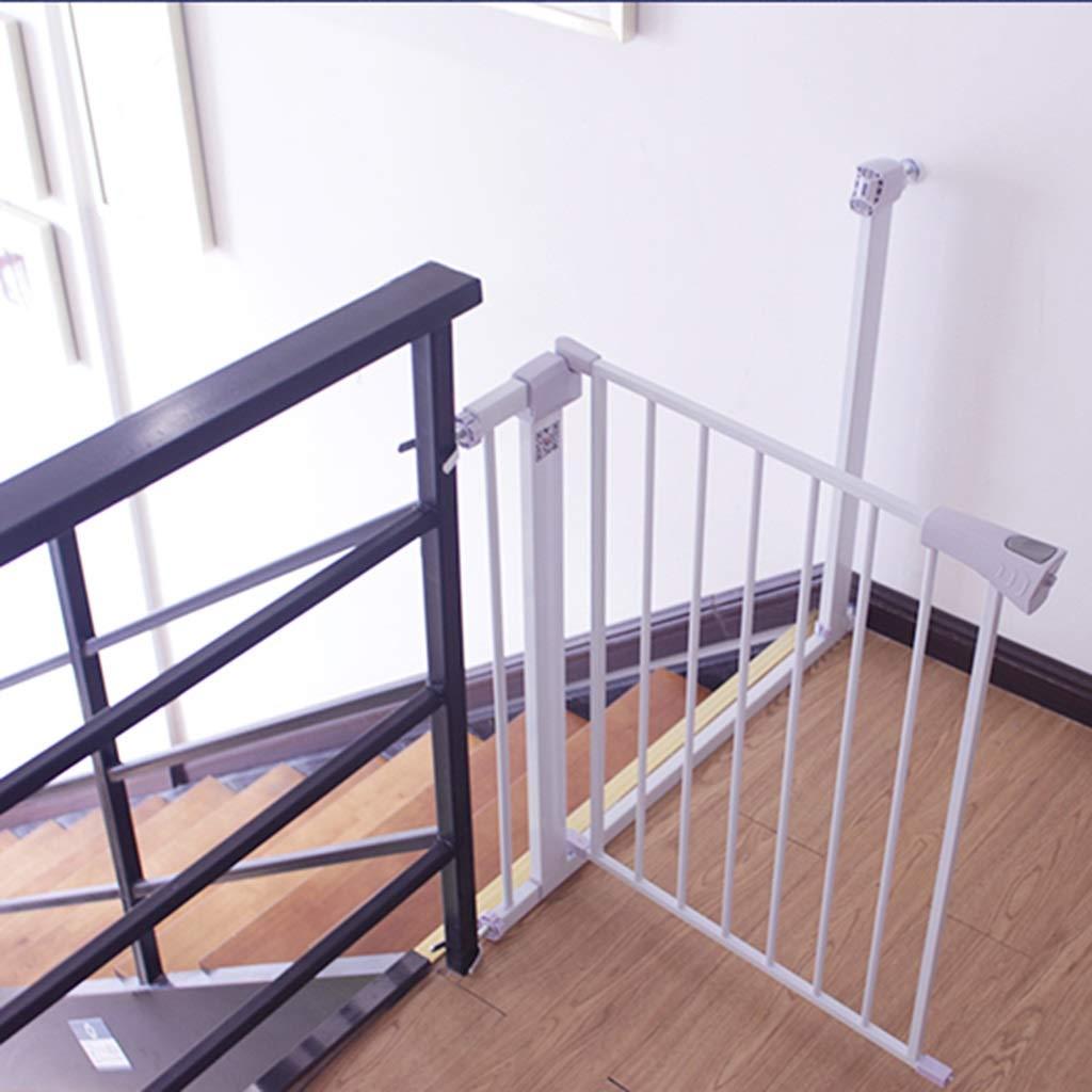 希少 黒入荷! 出入口階段のための余分な背の高い、広いペットゲート白い金属の赤ん坊の犬の猫のドア、96センチメートルの高さ、75-172センチメートル (サイズ (サイズ 122-129cm) さいず : さいず Width 122-129cm) Width 122-129cm B07KMCBW7W, 金の豚:cefb6a7a --- a0267596.xsph.ru