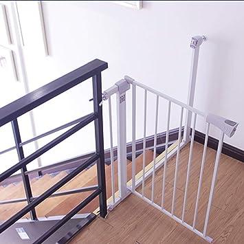 barrera seguridad Puertas para mascotas extra altas y anchas para puertas Escalera Play Yard Protector de