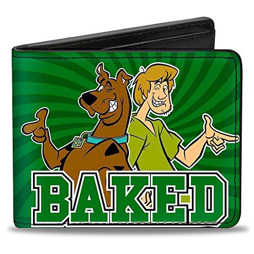 Buckle-Down Bifold Wallet Scooby (Scooby Doo Wallet)