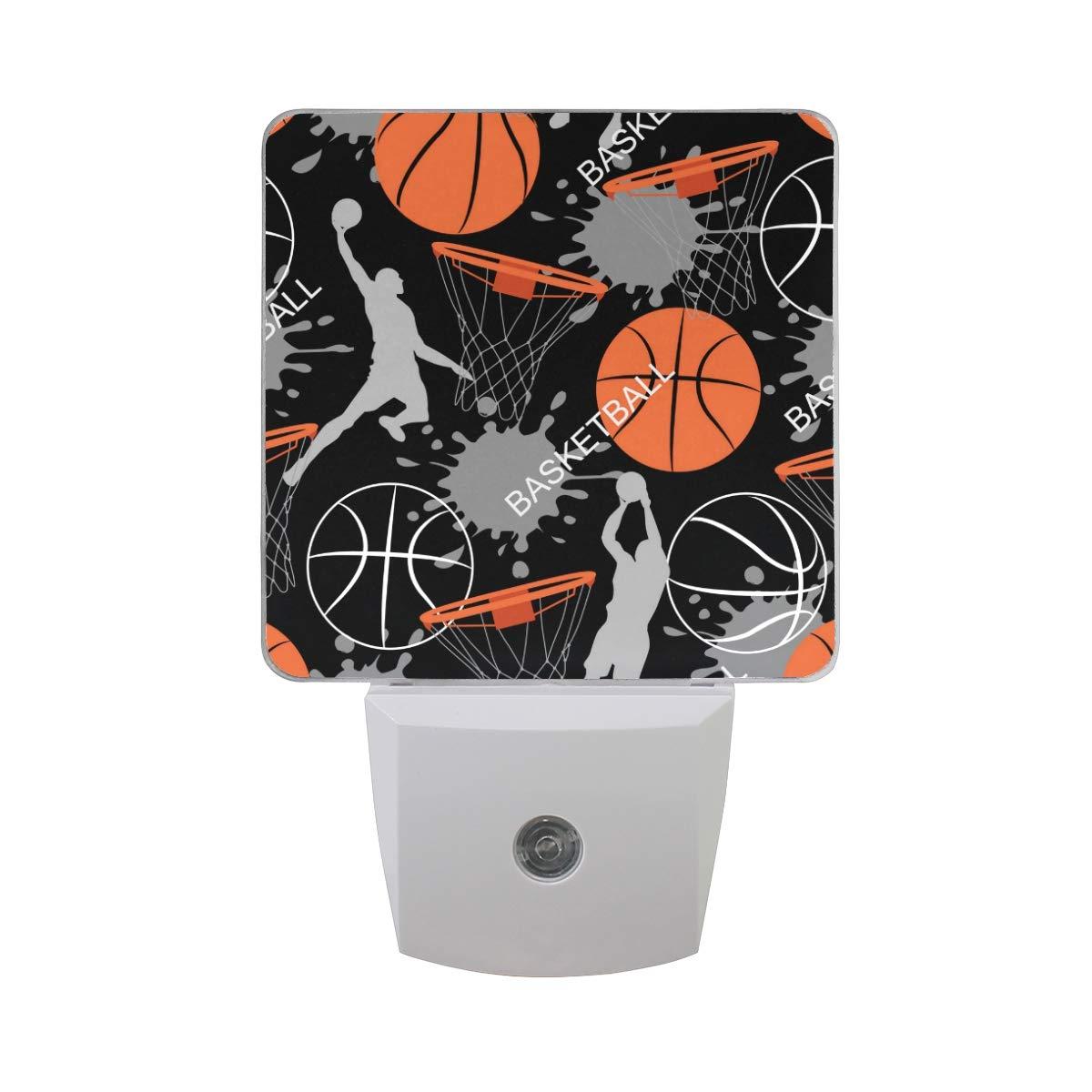 Vinln - Luz nocturna de noche con diseño de balón de baloncesto ...