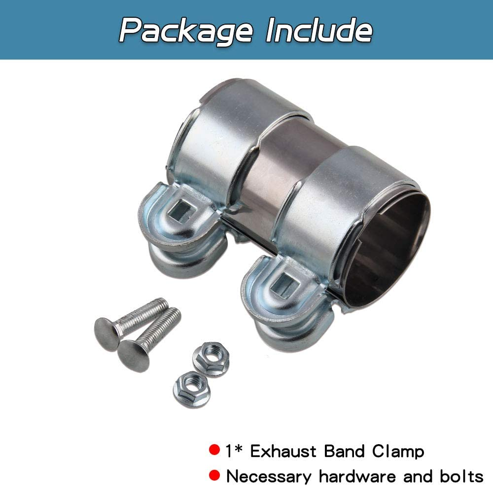 Universal 58mm Exhaust Down Pipe Clamp