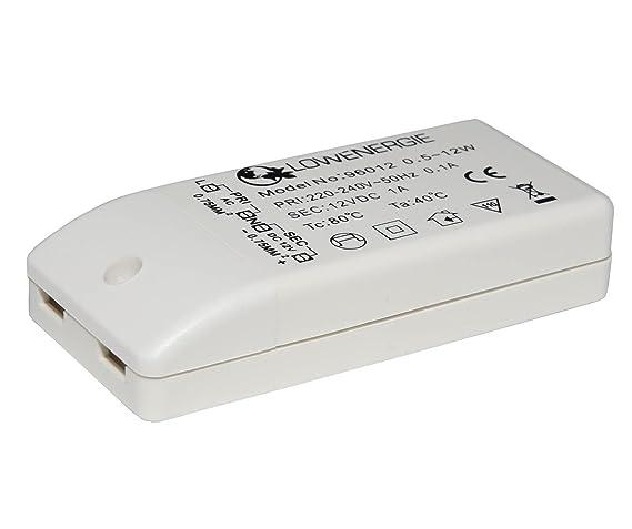 Auraglow - Transformador para bombillas LED (para bombillas MR16, MR11, G4, 12