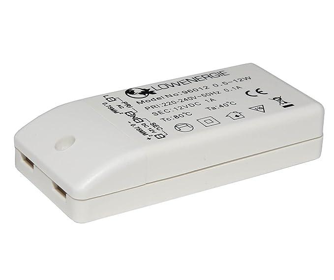 Auraglow - Transformador para bombillas LED (para bombillas MR16, MR11, G4, 12 W)