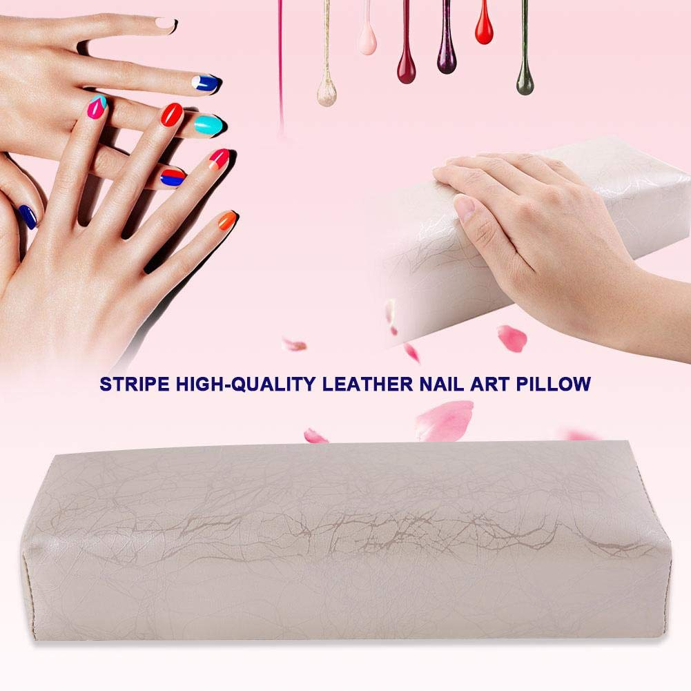 Amazon.com: Cojín de mano, almohada de piel a rayas, para ...