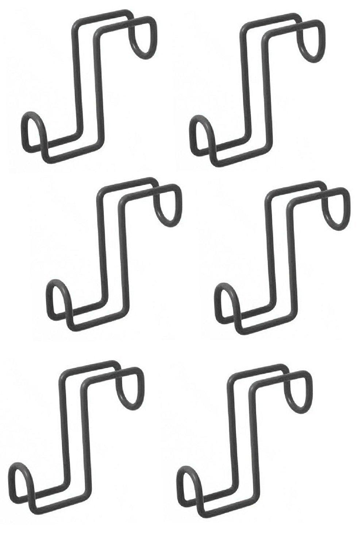 Derby Originals Set of 6 4'' Utility Hook/Tack Hook