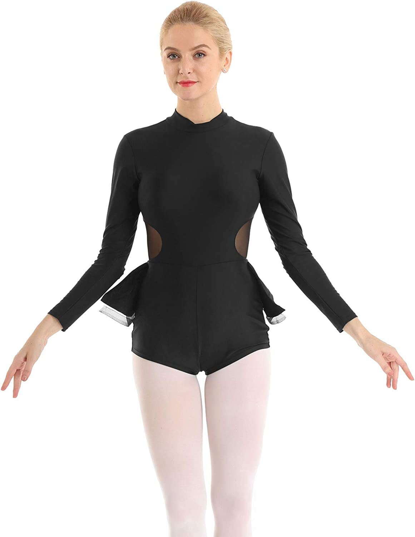 CHICTRY Womens Adult Metallic Spandex Tank Biketard Sleeveless Short Unitard Dance Leotard Bodysuit