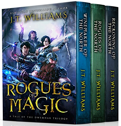 Rogues of Magic: (A Tale of the Dwemhar Trilogy) cover