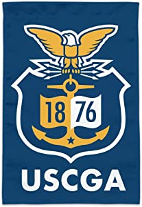 GRAPHICS & MORE U.S. Coast Guard Academy Official Bears Logo Garden Yard Flag