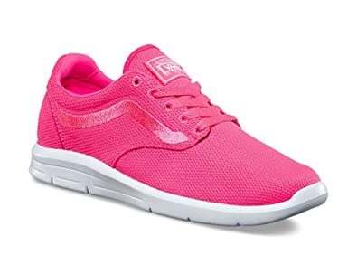 2f3cdec51b1484 Image Unavailable. Image not available for. Color  Vans Iso 1.5 Womens Size  5.5 Mesh Knockout Pink Running Athletic Shoes