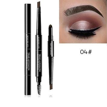 9897ecadd8e C Gaddrt Eyebrow Tattoo Pen 3 In 1 Waterproof Multifunctional Automatic  Eyebrow Pencil Powder Brush Pigment Makeup Kit: Amazon.in: Beauty