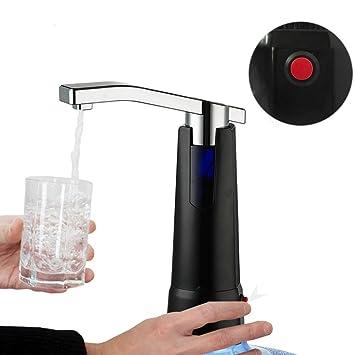Grifo electrico para bebidas barriles garrafas bidones bateria recargable por usb bomba de agua liquidos electrica NOVEDAD 2017 color negro de OPEN BUY: ...
