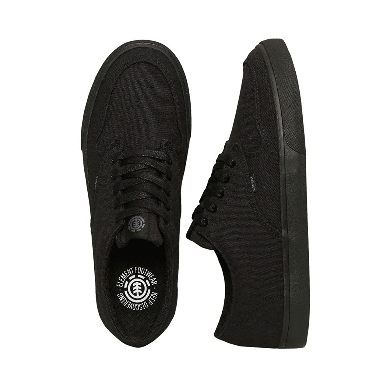 (エレメント) Element メンズ シューズ靴 スニーカー Topaz C3 Black/Black [並行輸入品] B07B9XLR95