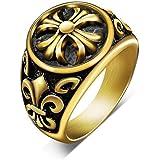 K.L.Y ペアリング 316L リング 指輪 結婚 婚約指輪 ペア リング アクセサリー ジュエリー (個別販売) (メンズ7号)