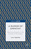 A Rumor of Empathy, Lou Agosta, 1137492589