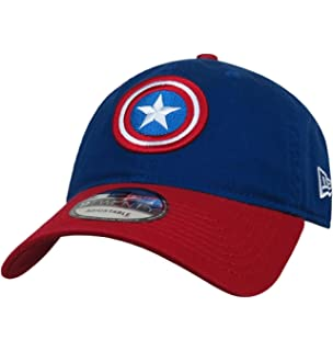 Long Live Captain America MCU Memorial New Era 39Thirty Flex Fitted Hat Black
