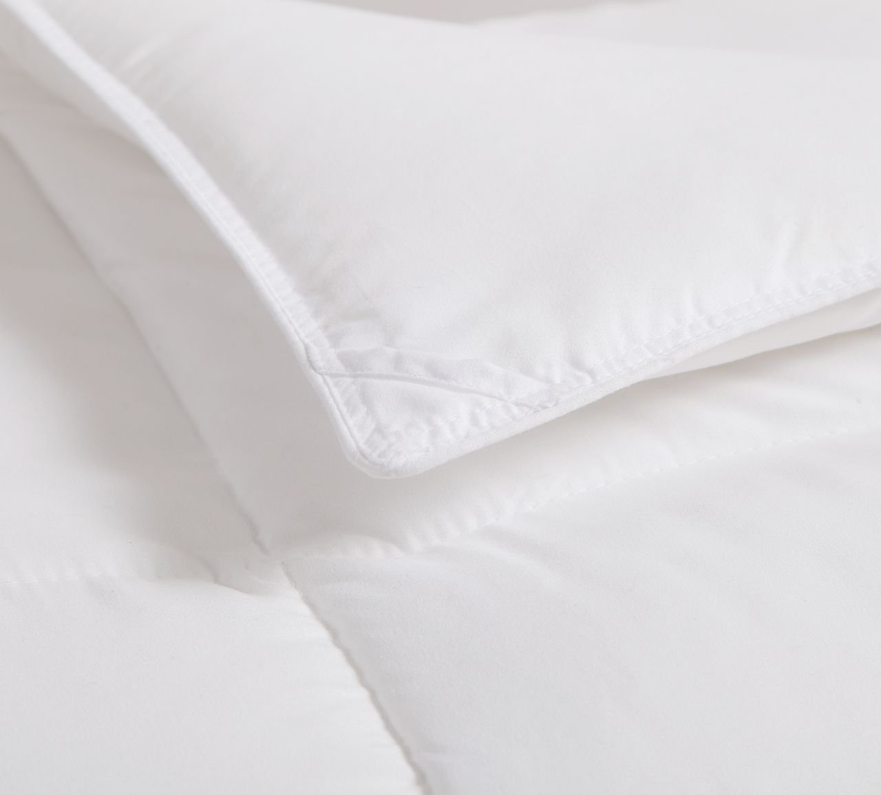 KingLinen White Down Alternative Comforter Duvet Insert Twin da120501-t