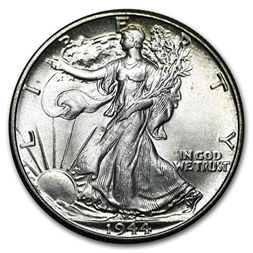 1944 Walking Liberty Half Dollar BU 1/2 Brilliant Uncirculated