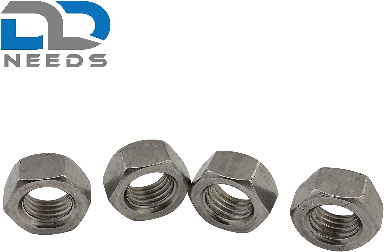 Lot de 50//Écrou hexagonal M2/jusqu/à M20/DIN 934/A2/en acier inoxydable V2/A