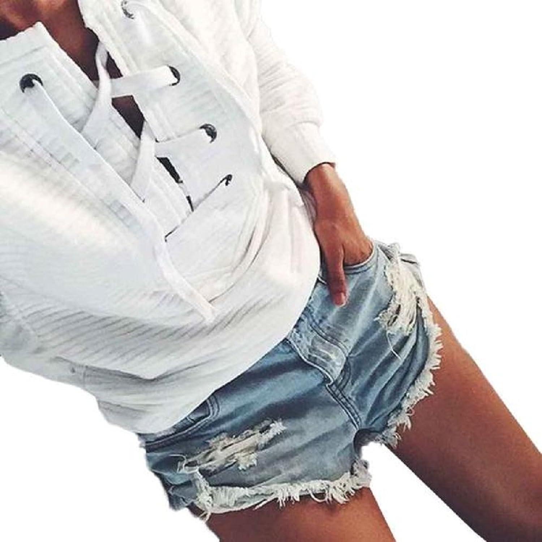 NOMENI Casual Long Sleeve Hoodie Sweatshirt Jumper Pullover Tops Shirt Coat
