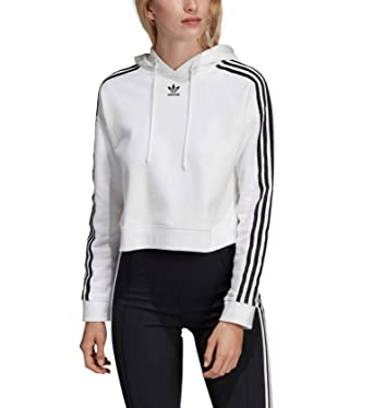 professional sale competitive price release info on adidas Originals Damen Sweatshirt mit Kapuze Cropped Hoodie ...