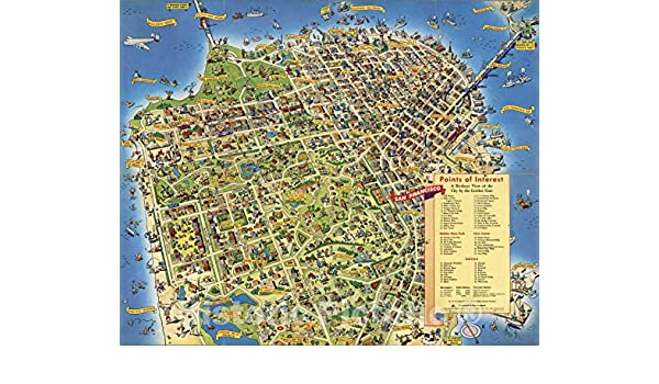 Amazon.com: Historic Map - A Pic-Tour Map. Where to Go ... on mco map, western europe map, northern europe map, central europe map, osi map, mu map, ca map,