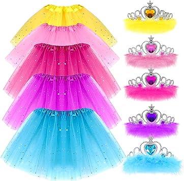 Amazon.com: G.C - Conjunto de tiara con lentejuelas y corona ...