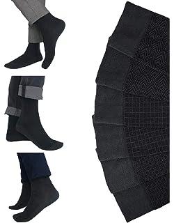 Calcetines hombres ejecutivos de bambu - super suaves – Pack de 6 pares – Talla 41