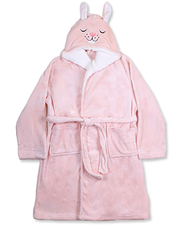 Dreams /& Co Womens Plus Size Animal Hood Sherpa Wrap