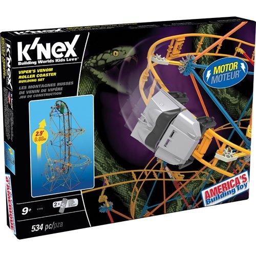 K'NEX Viper's Venom Roller Coaster Building Set -