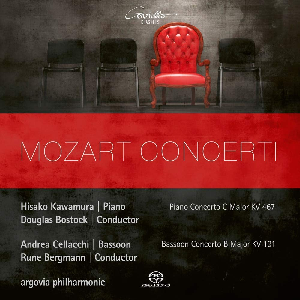 SACD : ARGOVIA PHILHARMONIC - HISAKO KAWAMURA - ANDREA CELLACCHI - Mozart Concerti (Hybrid SACD)